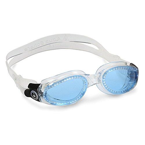 Aqua Sphere Schwimmbrille Kaiman mit blauen Gläsern