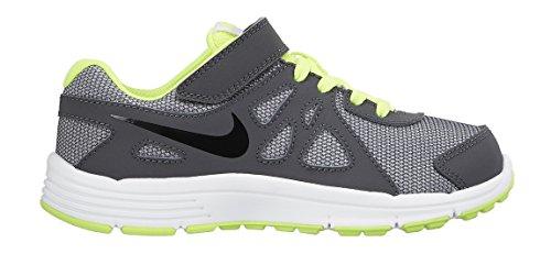 Nike Revolution 2 Psv 555083 Jungen Laufschuhe Grau / Schwarz (Wolf Grey / Schwarz-Dark Grey-Blk)