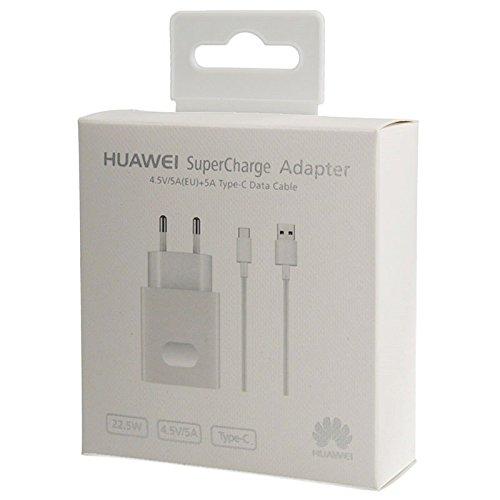 Cargador Original Huawei AP81 Carga Rapida SuperCharge (5A) Tipo C para P10, P10 Plus, Mate 9, Blister