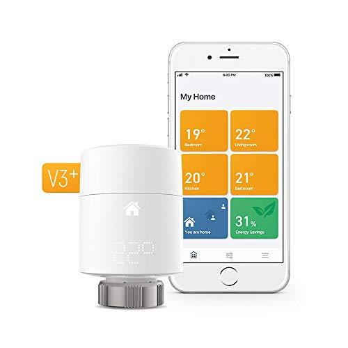 Tado ° Smart radiatore termostato starter-Controllo riscaldamento intelligente, funziona con Amazon ALEXA, Apple Homekit, Google assistente, IFTTT, Bianco