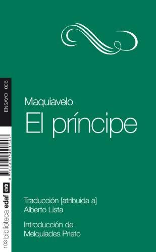 Principe, El. (Nueva Biblioteca Edaf)
