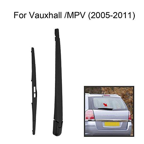 KKmoon Auto Heck Fenster Windschutzscheibe Wischerarm & Vollständiger Ersatz-Set für VAUXHALL OPEL ZAFIRA B MK2 MPV 2005-2011