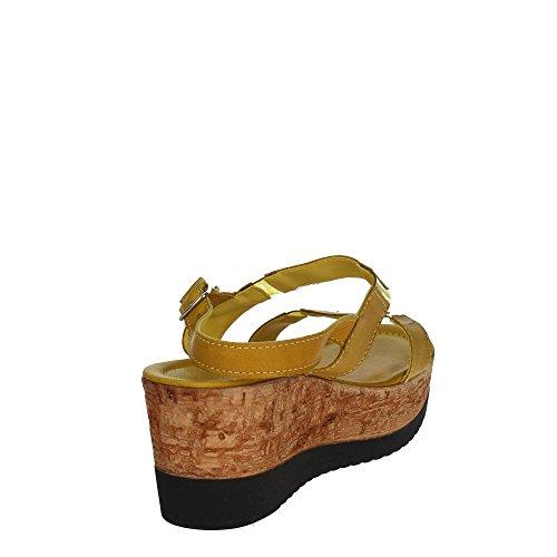 Cinzia Soft IAF 2819-28T 003 Sandale Femme Jaune