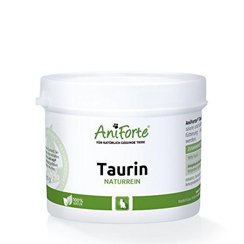 AniForte Taurin naturrein 100 g - Naturprodukt für Katzen