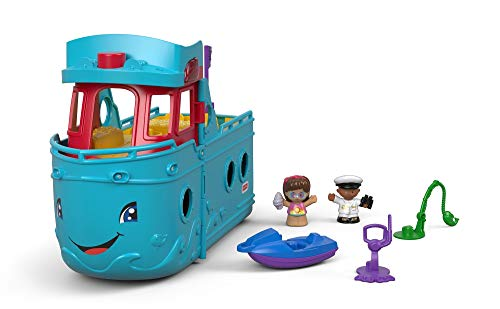 Fisher-Price FXJ44 Travel Together Friend Ship Spielzeug, Mehrfarbig -