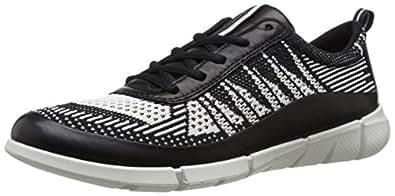 Ecco Damen Intrinsic 1 Ladies Sneakers, Mehrfarbig (Black/White 50669), 36 EU