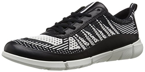 ECCO Intrinsic 1 Ladies, Scarpe da Ginnastica Donna Multicolore(Black/White 50669)