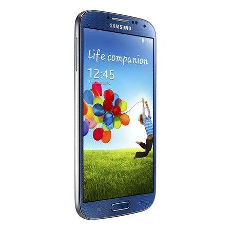Samsung Galaxy S4 Smartphone (5 Zoll (12,7 cm) Touch-Display, 16 GB Speicher, Android 5.0) blau (Samsung Handy Unlocked 5 Zoll)