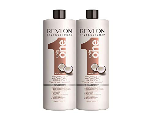 Revlon Uniq One Coconut Champu 1000ml x 2 Unidades