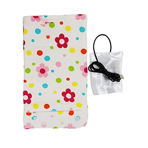 USB Out Portable Heizung Flaschenwärmer, Baby Flasche Isolierung AbdeckungTragbare USB Milchwärmer Isolierhülse 28 cm 13 cm / 11,02 5,12 zoll