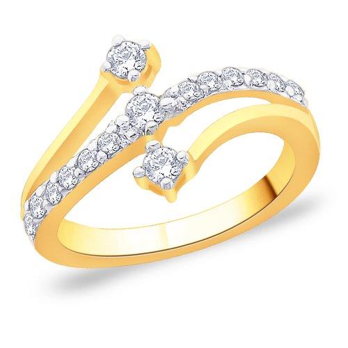 Peora-925-Silver-18-Karat-Gold-Plated-Ring-made-with-SWAROVSKI-ZIRCONIA-for-Women