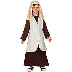 Guirca - Disfraz infantil de Hebreo pastor, 5-6 años, color marrón (42536.0)