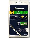 """Arnold 1191-X1-0020 Hobby Chaîne de tronçonneuse 62 maillons entraîneurs 1,52 mm (3/8"""") x 1,3 mm 45 cm"""