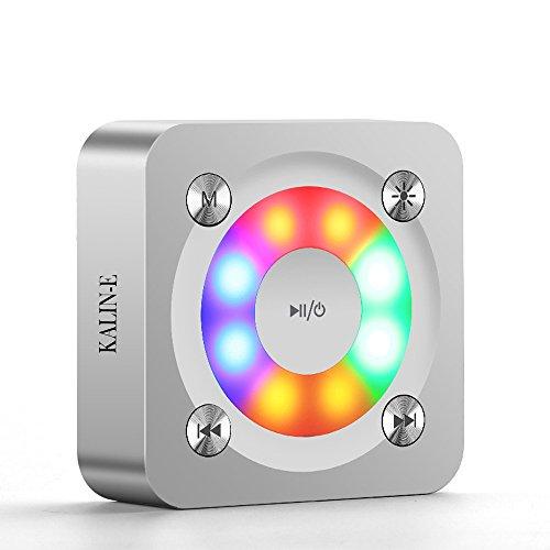 Inalámbrico Bluetooth altavoces, KALIN-E A9 portátil LED colorido Mini altavoces compacto Tamaño de bolsillo potente sonido con micrófono manos libres/tf tarjeta para Smart Phone/Tablet/portátiles