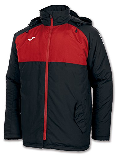 Joma - Anorak Andes Negro-Rojo para Hombre