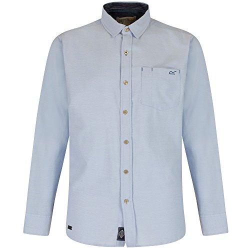 Regatta Mens Benas Long Sleeve Check Pattern Button Up Shirt (Kragen Button-up-shirt)