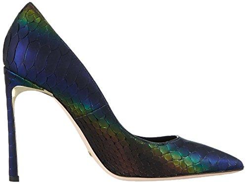 Sebastian S6911p Pitiriblu, Chaussures à talons - Avant du pieds couvert femme Bleu - Blau (PITIRIBLU)