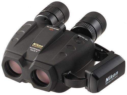 Jumelles Nikon Stabileyes -BAA621EA-Jumelles-StabilEyes-12x32-VR-Stabilisation-Electronique-Etanches