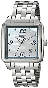 Tissot Damen-Armbanduhr T Quadrato Analog Quarz T0055101111700