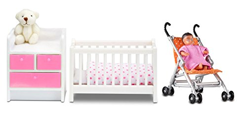 Lundby 60.2085.99 – Baby mobili Set Special Edition
