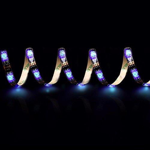 AMANKA Striscia LED da 2x 50 cm