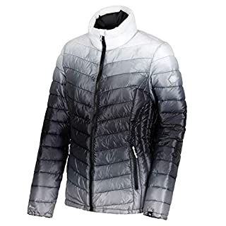 Regatta Women's Azuma II Lightweight Water Repellent Insulated Jacket, Black, Size 12