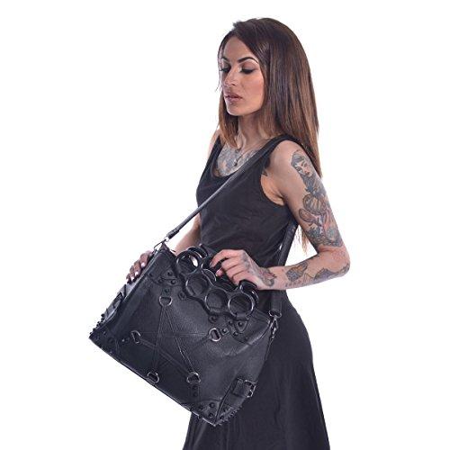 Bolso Pentacult de Vixxsin Punk Gothic Gótico Pentagrama Cuero Vegano