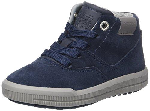 Geox Jungen J Arzach Boy H Hohe Sneaker, Blau (Navy), 27 EU (Geox Turnschuhe Kinder)