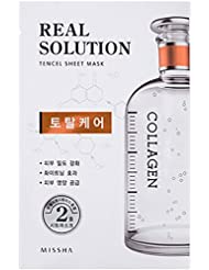 MISSHA Real Solution Tencel Sheet Mask (Total Care), 1er Pack