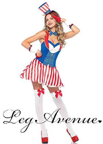 Magic Box Int. Frauen Miss America Uncle Sam USA Kostüm S/M (UK ()