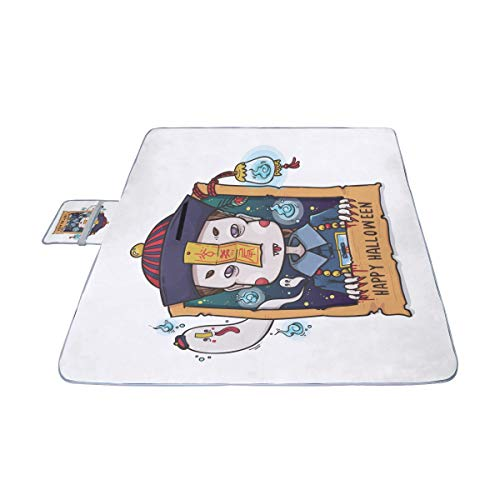 EIJODNL Nette Karikatur-Zombies-Picknick-Matte 57