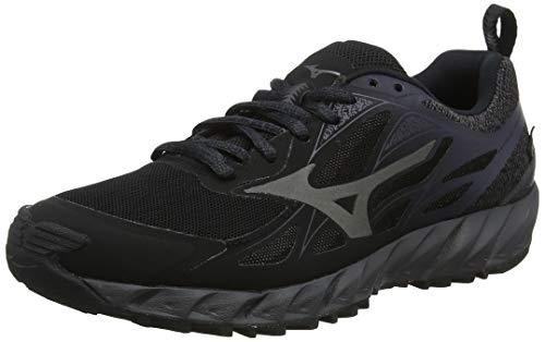 Mizuno Wave Ibuki GTX, Scarpe da Trail Running Donna, (Black/Metallic Shadow/Magnet 49), 39 EU