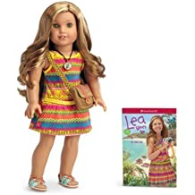 Lea Doll & Book With Pierced Ears And 3 Sets Of Earrings