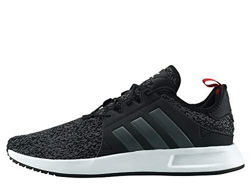 adidas Herren X_PLR Gymnastikschuhe, Schwarz Core Black/Grey Six/Scarlet, 47 1/3 EU