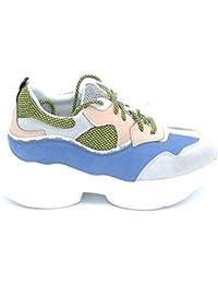Liu Jo B19035 Sneaker Lacci camoscio Multicolor - Taglia Scarpa 41 Colore  Multicolor 81f3a0e2aef