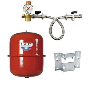 Zilmet 12 Litre Heating Expansion Vessel & Sealed System Kit