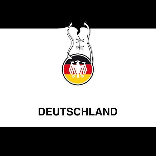 Apple iPhone 4s Case Skin Sticker aus Vinyl-Folie Aufkleber Deutschland Fußball Trikot DesignSkins® glänzend
