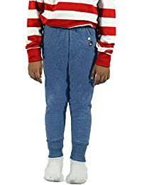 RUPA Agni Kids Unisex Outer Top Elastic Trouser Premium Thermal (Colour: Blue) (Size: 29 Inch ) (Age: 8-9 Years)