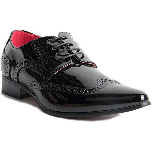 Rossellini  Prato Z2, Chaussures de ville à lacets pour homme Noir
