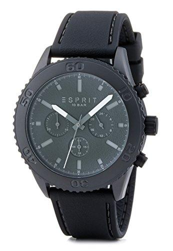 Esprit Herren-Armbanduhr XL Marin Rider Chronograph Quarz Resin ES106871003