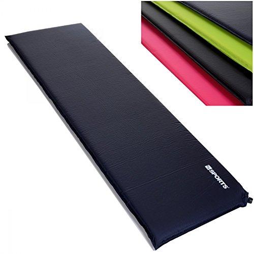 LCP Sports Adventure Selbstaufblasende Luftmatratze Isomatte LxBxH 200 x 66 cm x 10 cm dunkelblau auch in 3 oder 6 cm verfügbar