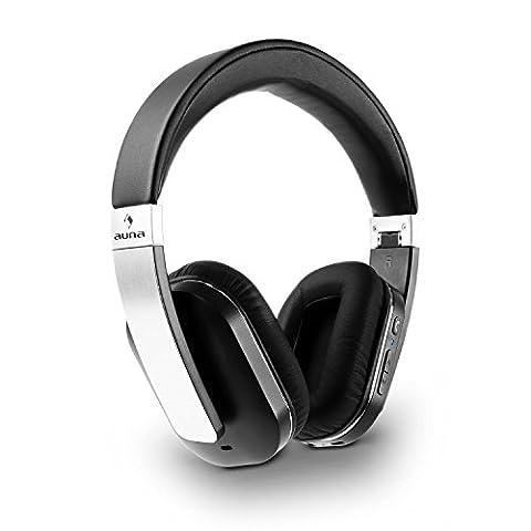 auna Elegance - Casque audio Bluetooth NFC avec micro pour