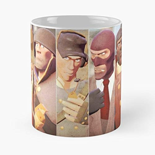 Tf2 Team Fortress T Best Gift Ceramic Coffee Mugs (Team Fortress Pyro)