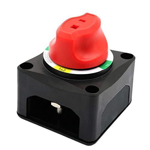 Almencla 200A 4 Position Batterietrennschalter Killschalter W/AFD Für Boot/Marine -