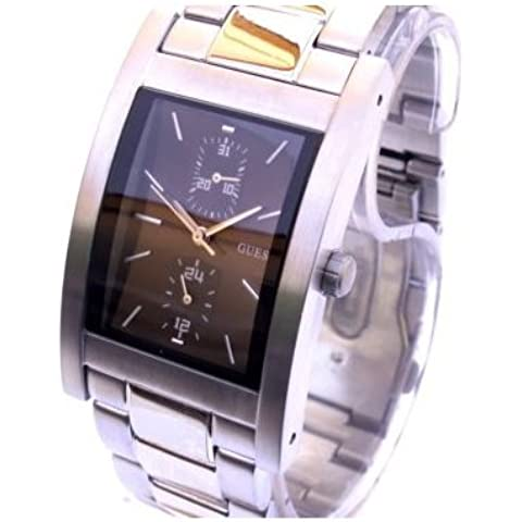 Reloj Guess Mens Steel Cufflink Multifunción 11067G1