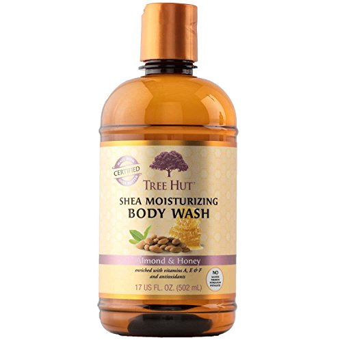 Tree Hut Shea Moisturizing Body Wash, Almond and Honey, 17 Fluid Ounce by Tree Hut