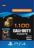 1.100 Call of Duty : Black Ops 4-Punkte - 1100 Points DLC | PS4/PS3 Download Code - deutsches Konto