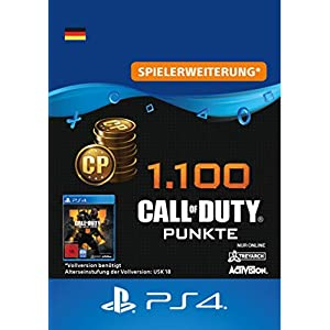 1.100 Call of Duty : Black Ops 4-Punkte – 1100 Points DLC | PS4/PS3 Download Code – deutsches Konto
