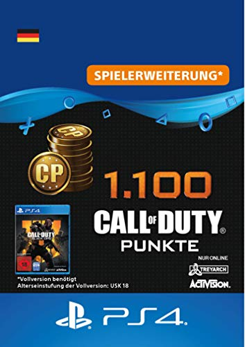 1.100 Call of Duty : Black Ops 4-Punkte - 1100 Points DLC   PS4/PS3 Download Code - deutsches Konto (Ps3 Call Duty 4)