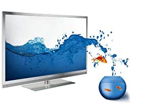 Grundig FineArts 40 FLE 9170 SL 102 cm (40 Zoll) 3D LED-Backlight-Fernseher (3D, Full HD, 400 Hz PPR, DVB-T/C/S2, 4x HDMI, USB 2.0, CI+) silber